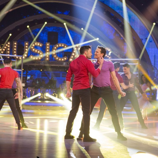 The Strictly Pro Dancers - (C) BBC - Photographer: Guy Levy