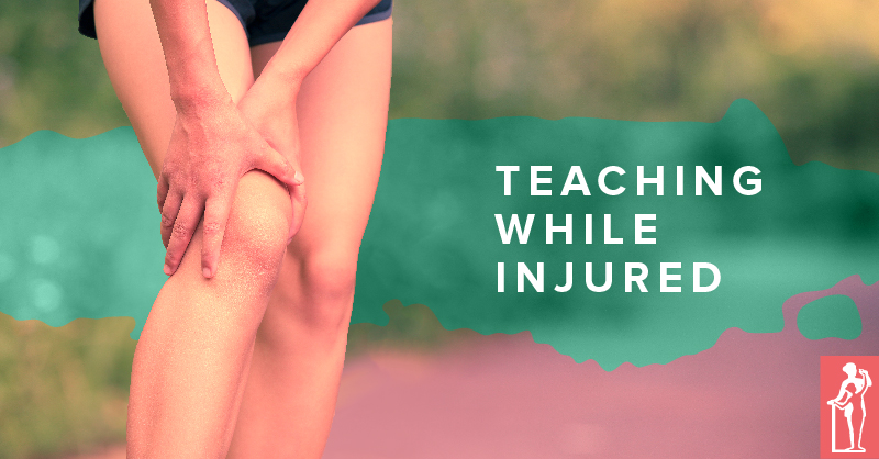 Teaching Ballet While Injured