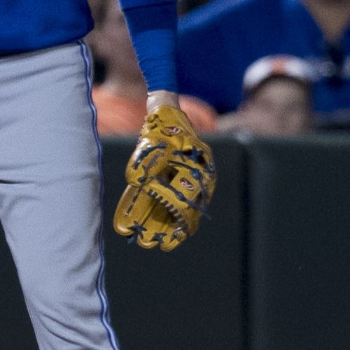 Josh Donaldson's Glove: Rich Tan Rawlings Pro Preferred/Heart of the Hide PRONP5