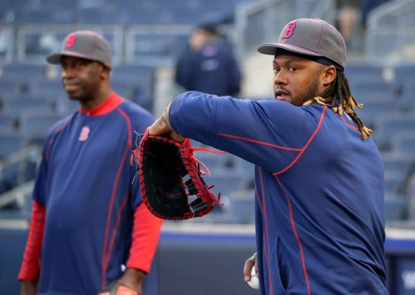 Hanley Ramirez' Glove: Wilson A2000 1617 with Colored Superskin
