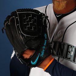 Felix Hernandez' Glove
