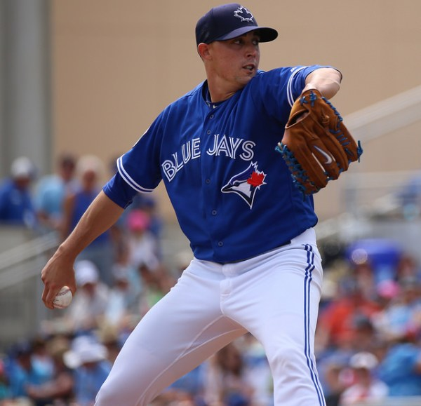 Aaron Sanchez' Glove: Custom Nike Diamond Elite Pro
