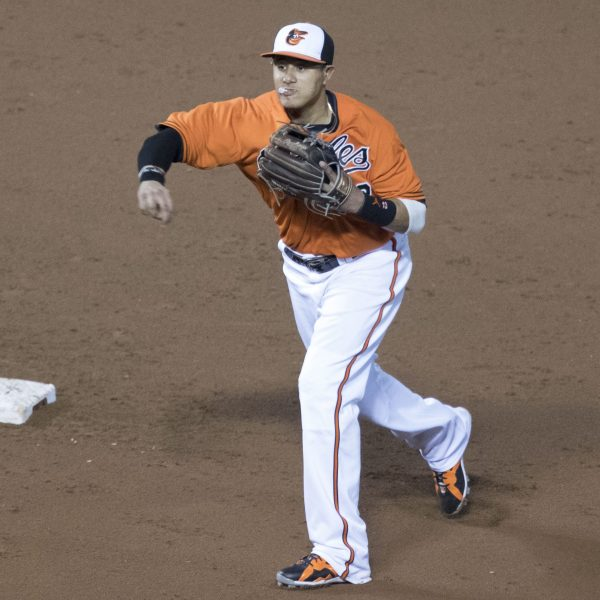 Manny Machado's Glove