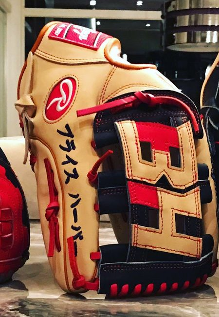Bryce Harper's 2017 Gloves