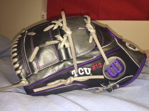 TCU's Wilson Gloves for the Upcoming season