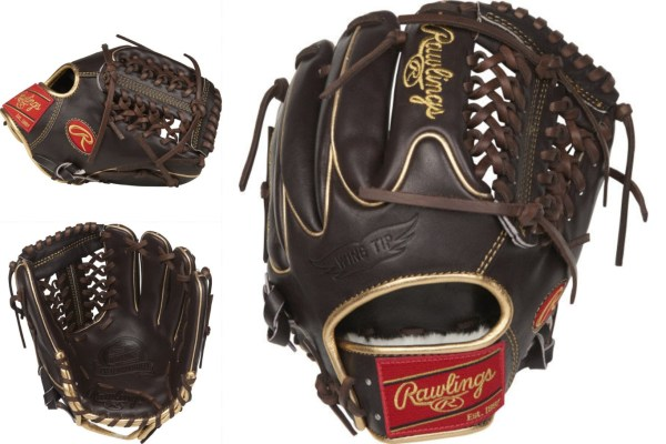 Rawlings Pro Preferred PROS204-4MO: Wingtip, Mocha, Gold