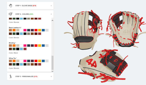 How to order 44 Pro Gloves Off-Centered Logo