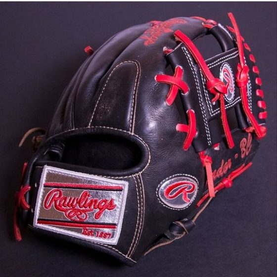 Francisco Lindor's game glove