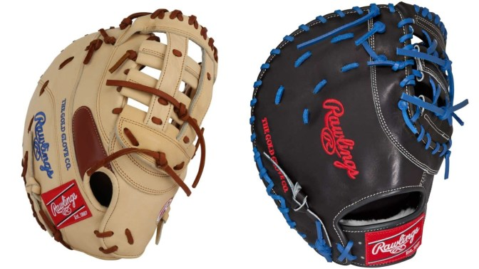Rawlings Pro Preferred First Base Mitts