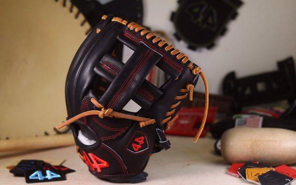"44 Pro Gloves Signature Series stock glove (Black, 11.5"" Single Post)"
