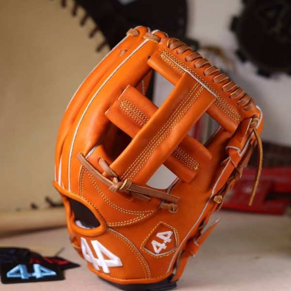 "44 Pro Gloves Signature Series Stock Glove (Orange Tan, 11.5"", Single Post)"