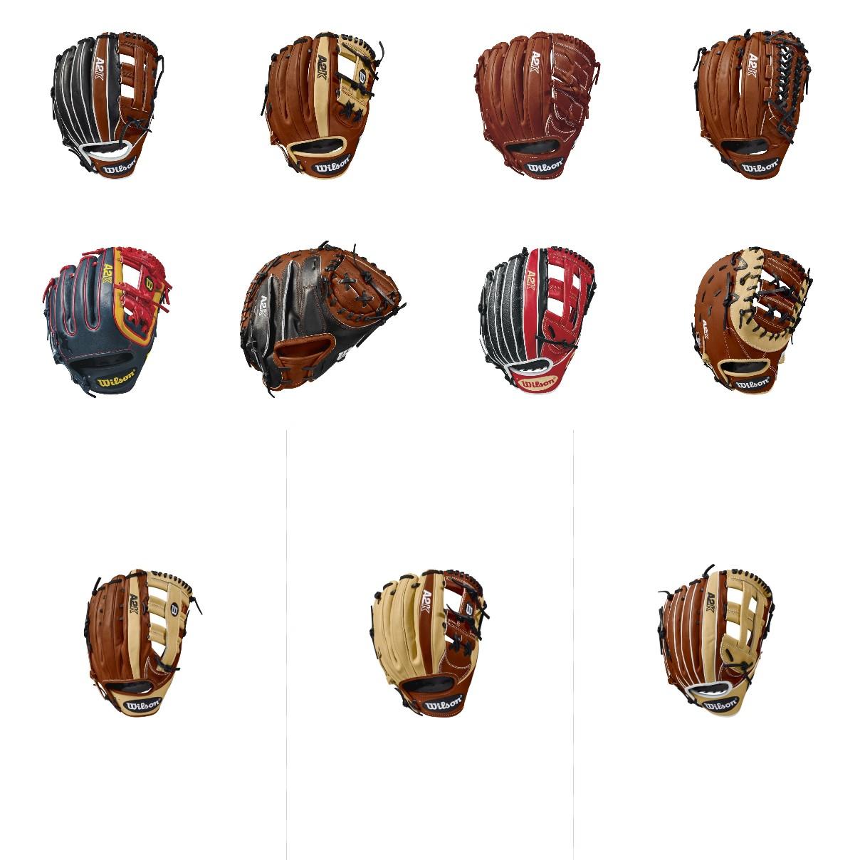 2018 Wilson A2K Gloves