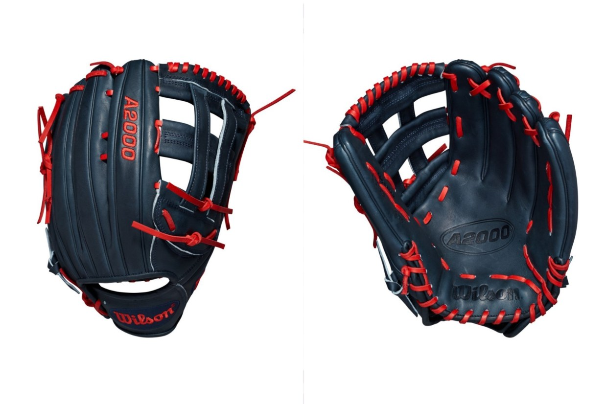 Wilson Glove of the Month October: Ender Inciarte's Custom Wilson A2000 1799