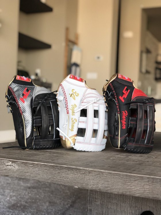 Bryce Harper's Gloves for 2018