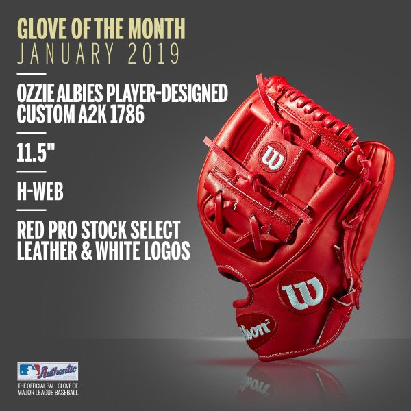 Wilson Glove of the Month January 2019