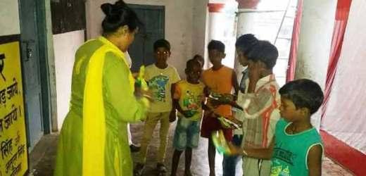 डॉ. स्मृति सिंह ने मनाई अलग अंदाज में दीपावली