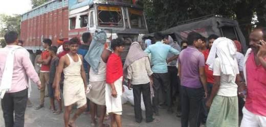 चिरैया मोड़ पर हुए हादसे घायल विंध्याचल के ट्रक चालक ने दम तोड़ा