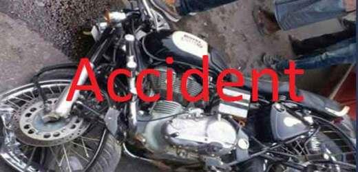 एनएच पर प्रसाद छपरा में टकराई तीन बाइक, एक युवक की मौत, दूसरा गम्भीर