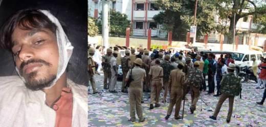टीडी कॉलेज छात्रसंघ चुनाव के दौरान बवाल, फायरिंग