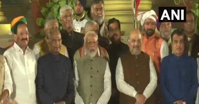 मोदी सरकार 2 : राजनाथ-अमित शाह और गडकरी ने भी ली शपथ