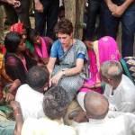 सोनभद्र हत्याकांड / पीड़ितों से मिलने के बाद प्रियंका ने 26 घंटे का धरना खत्म किया