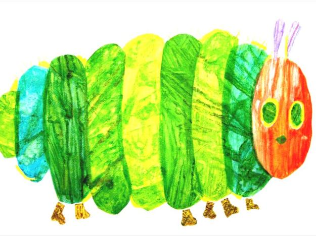 Eric Carle's Satiated Caterpillar