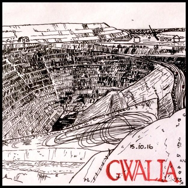 Gwalia Gold Mine - #Inktober2016