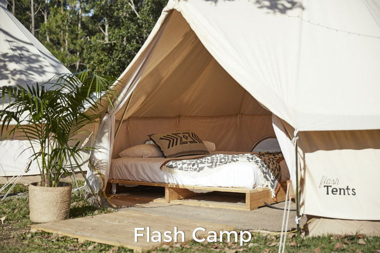 Splendour in the Grass Camping Transport Flash Camp