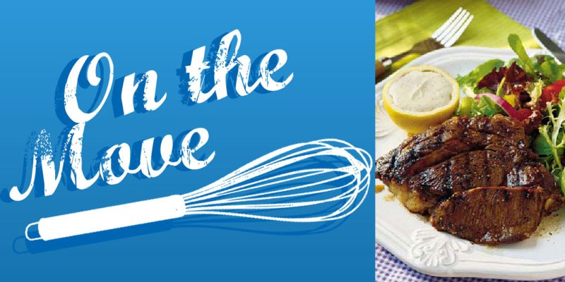 On The Move Recipe Series – Grilled Steaks Balsamico Recipe