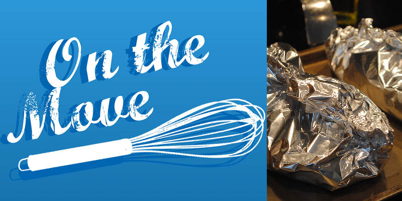 On the Move Recipe Series - Baked Chicken Parcels