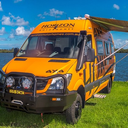 Horizon Waratah 4x4 Merc Sprinter LWB Stock No: 8023
