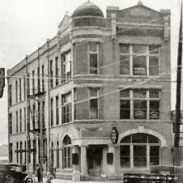 Farmer & Merchants Bank which became Ballinger National Bank Now Four Star Title Co. 801 Hutchings Ave.