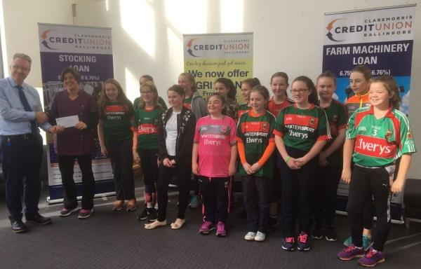 Credit Union sponsor Ladies U12 Jerseys | Ballinrobe GAA Club