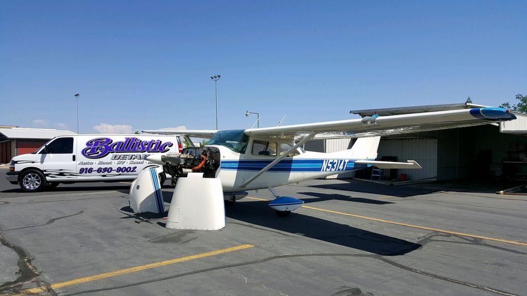 Roseville Cessna Aircraft Mobile Detail