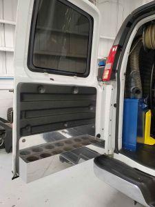 Back Door of Van