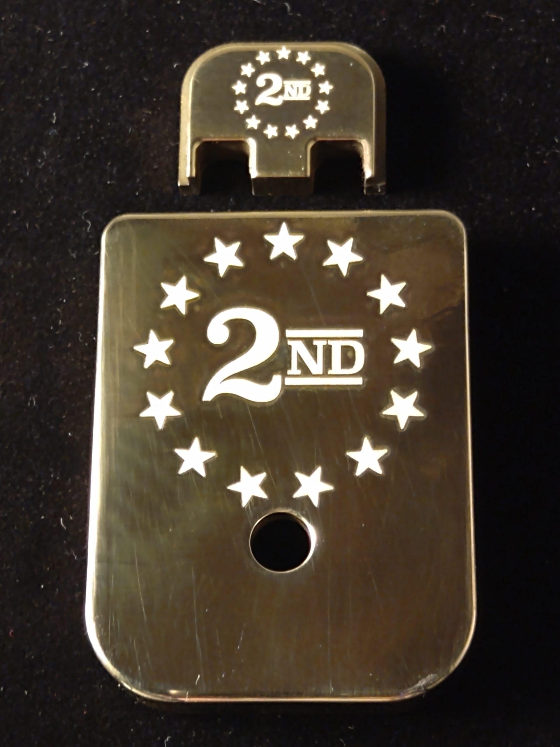 2ND Amendment For Glock 10mm, 45 ACP, Choose your Color & Part