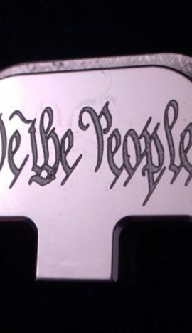"""""""WE THE PEOPLE"""" For Glock G42, Choose your Color & Part"""