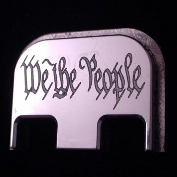 """""""WE THE PEOPLE"""" For Glock G43X & G48 Only, Choose your Color & Part"""