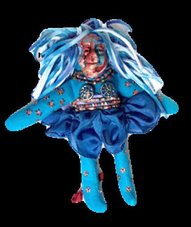 blueorangespiritdoll