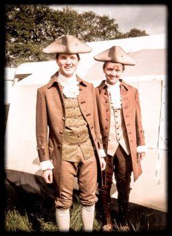 Benedikt und Dominik