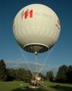 Gasballon HB-QKF