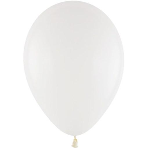 Latexballon 28cm 01 weiss