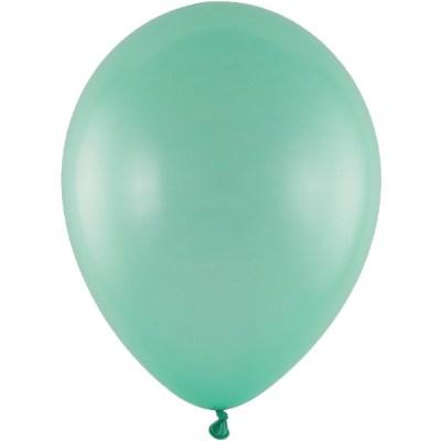 Latexballon 28cm metallic 781 mint