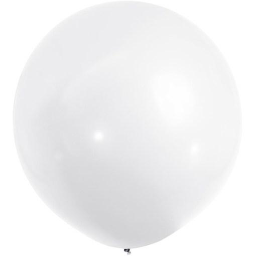 Grossballon Weiss