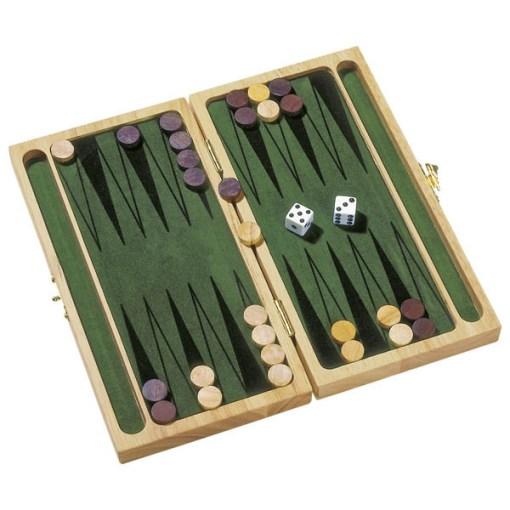 Backgammon Holz 255 x 24 x 4 cm