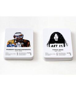 Das Kunstspiel, 50Karten, 90 x115x35mm 07