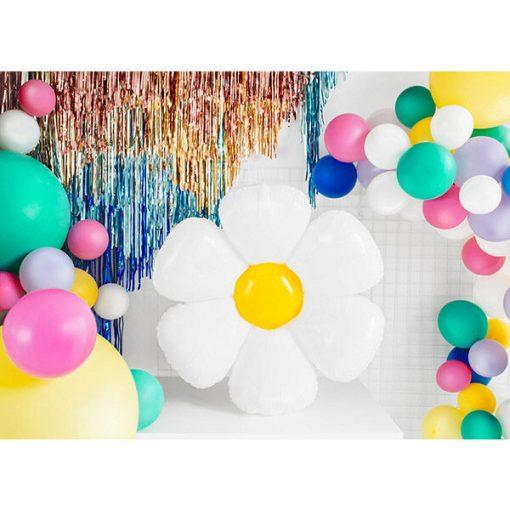 Folienballon Gaensebluemchen,75x71cm Dekobeispiel