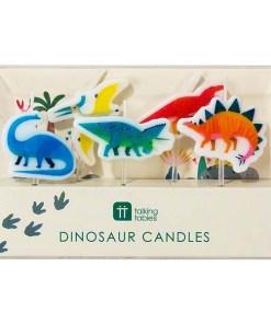 Packung mit Dinokerzen