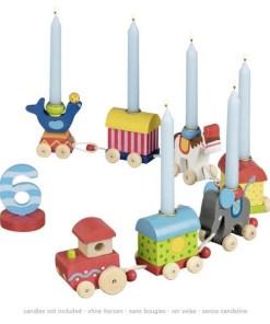 Geburtstagszug Zirkuswelt fährt um die Zahl