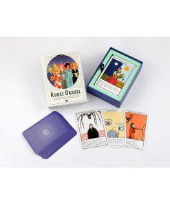 Kunst-Orakel, Lebenshilfe und Inspiration, 50Karten, 119x159mm 05